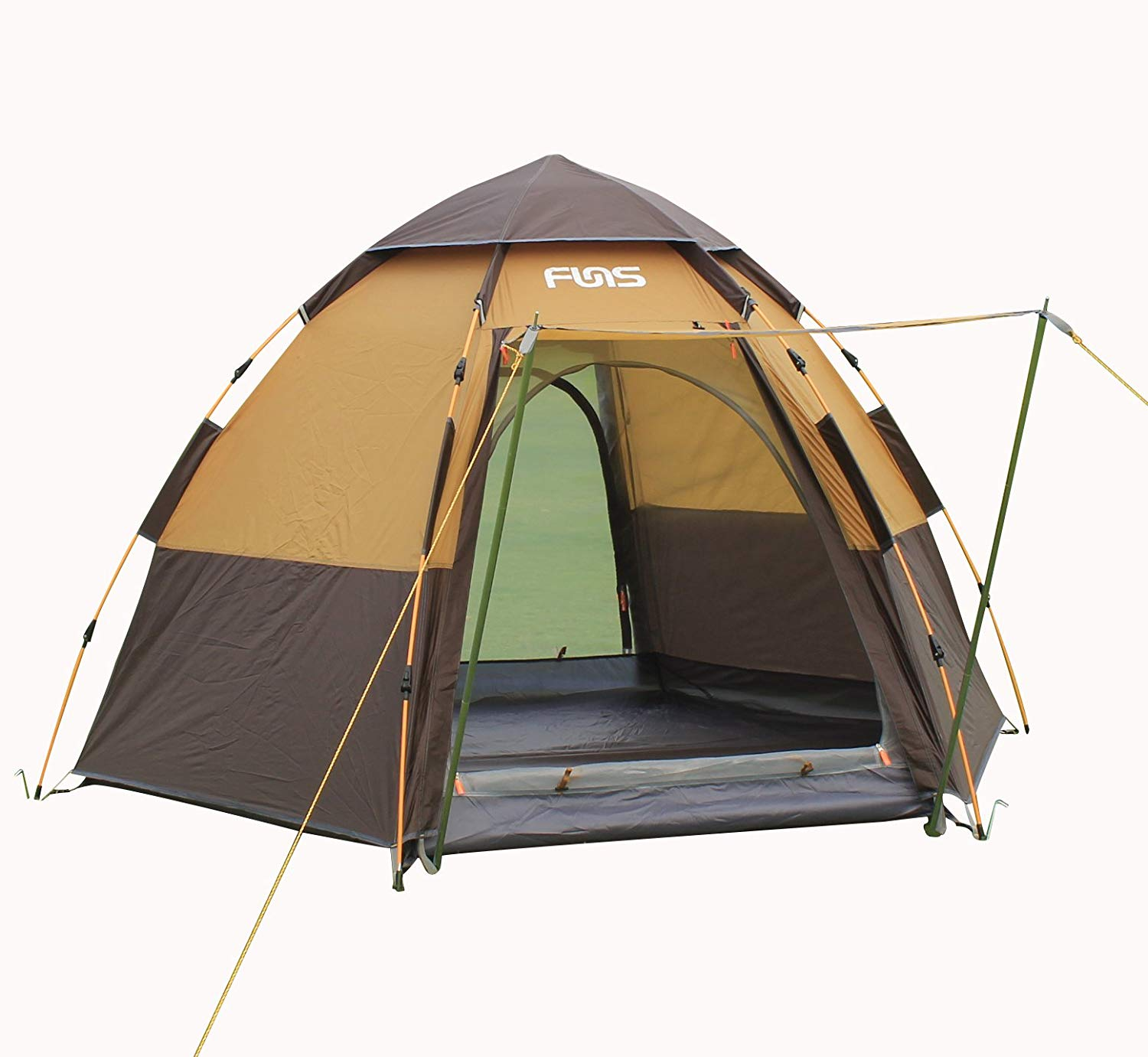 FUNS Instant 2 Person Easy Push Up Camping Tent