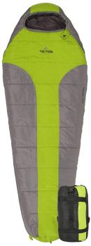 TETON Sports Tracker Ultralight Best Backpacking Sleeping Bag under 100