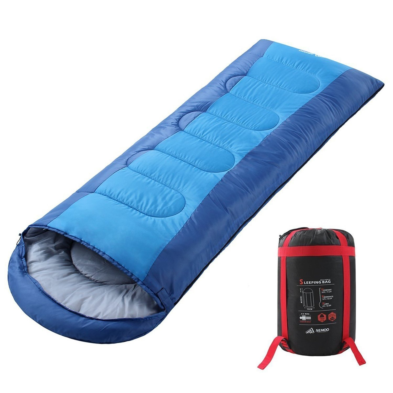 SEMOO Envelope Sleeping Bag