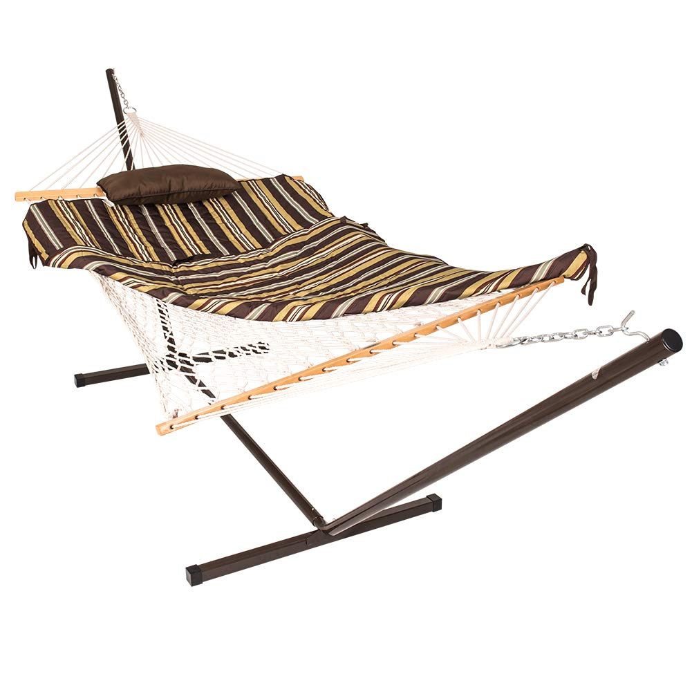 Lazy Daze Hammocks 12 Feet Space Saving Steel Hammock Stand