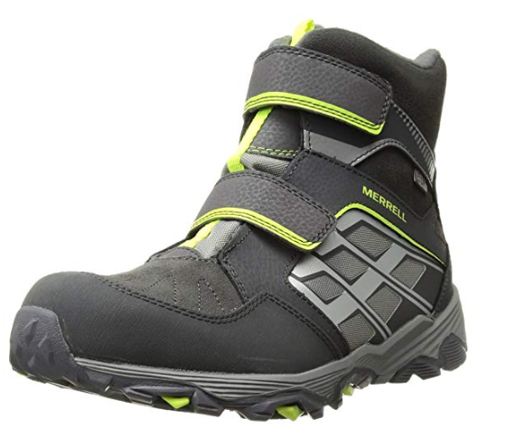 Merrell Moab Fst Polar Mid AC Waterproof Best Hiking Boot For wide feet