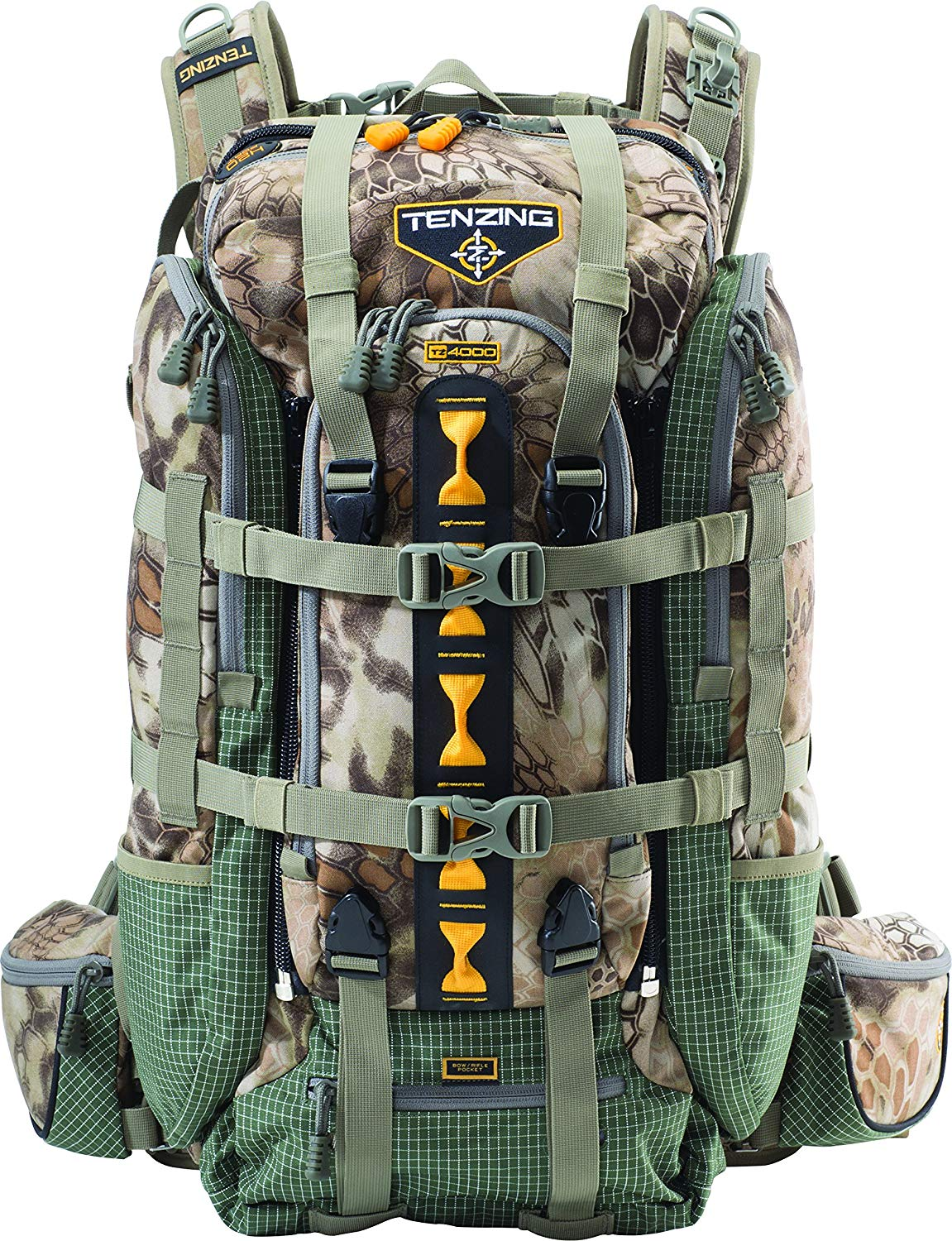 Tenzing TZ 4000 Hunting Backpack, Kryptek Highlander