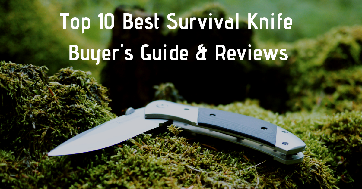 top 10 best survival knife under 100
