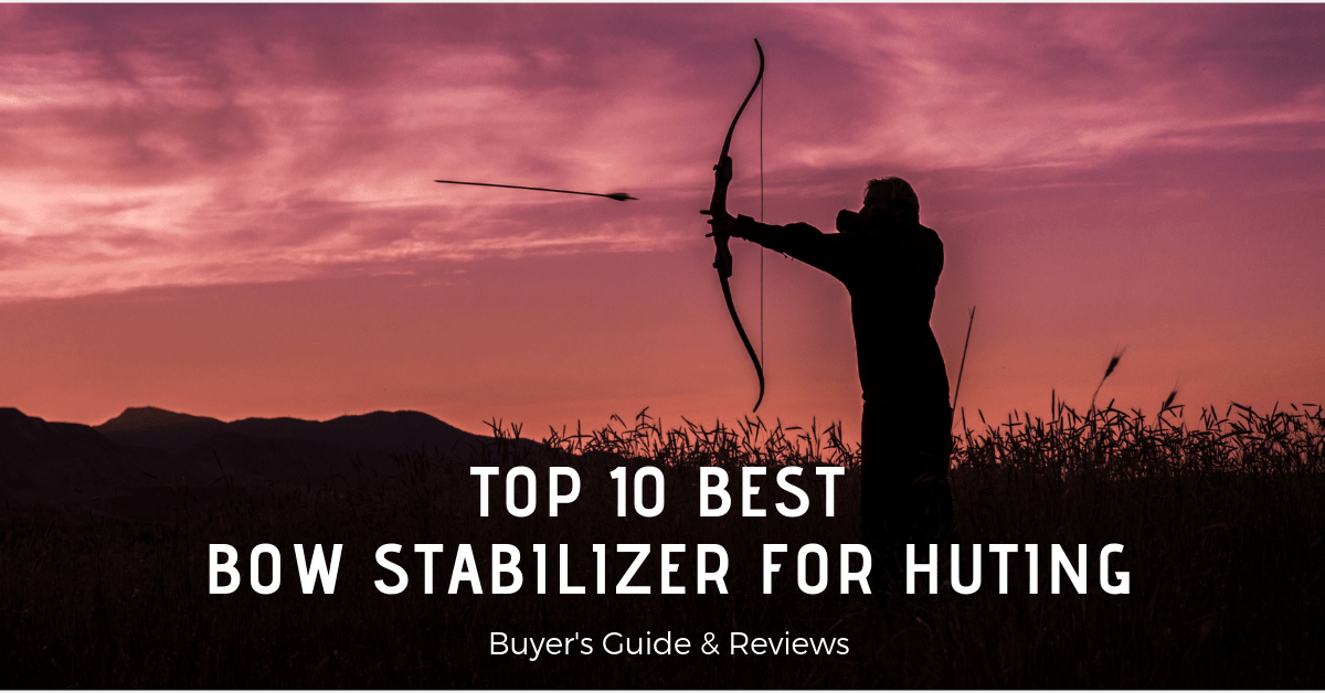 Best Bow Stabilizer For Hunting (Reviews & Buyer's Guide)