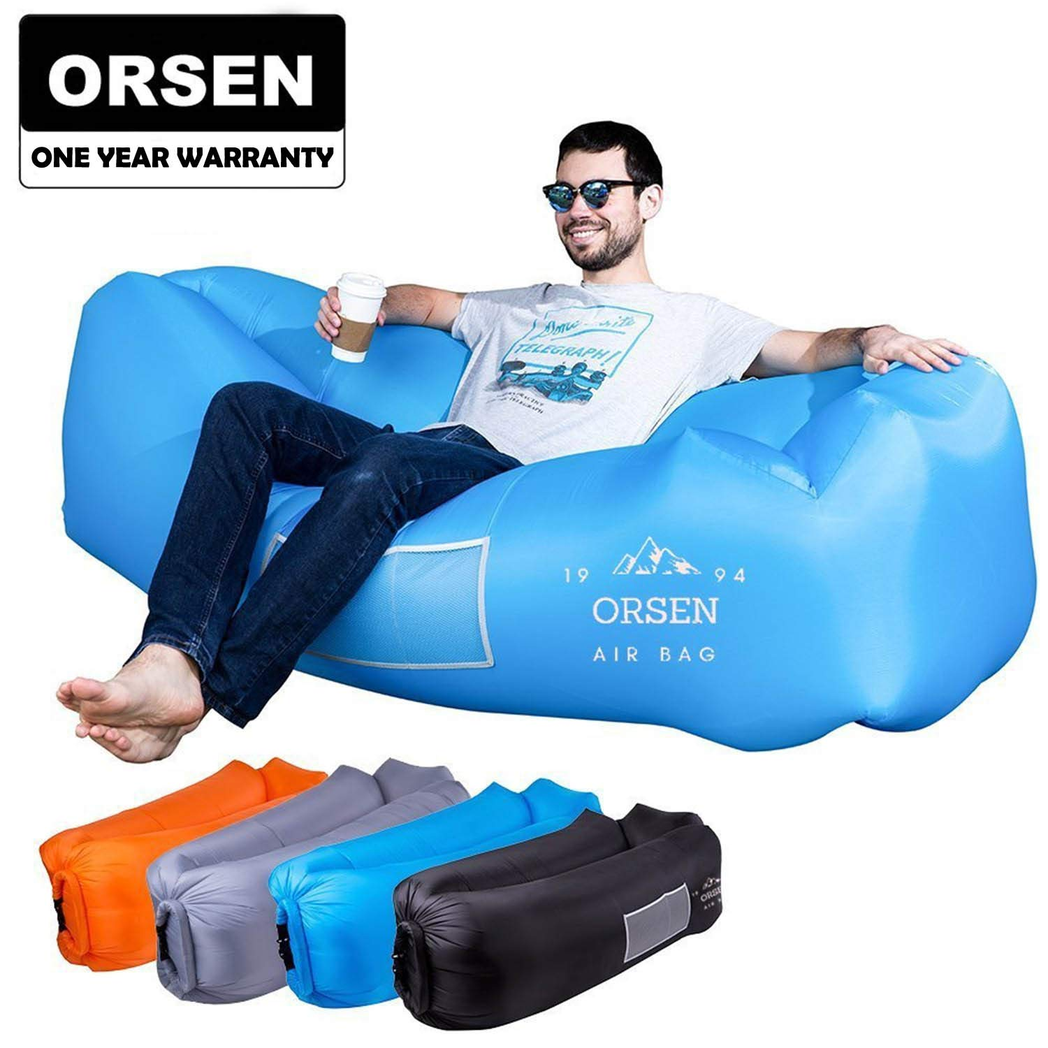 ORSEN Inflatable Lounger Portable