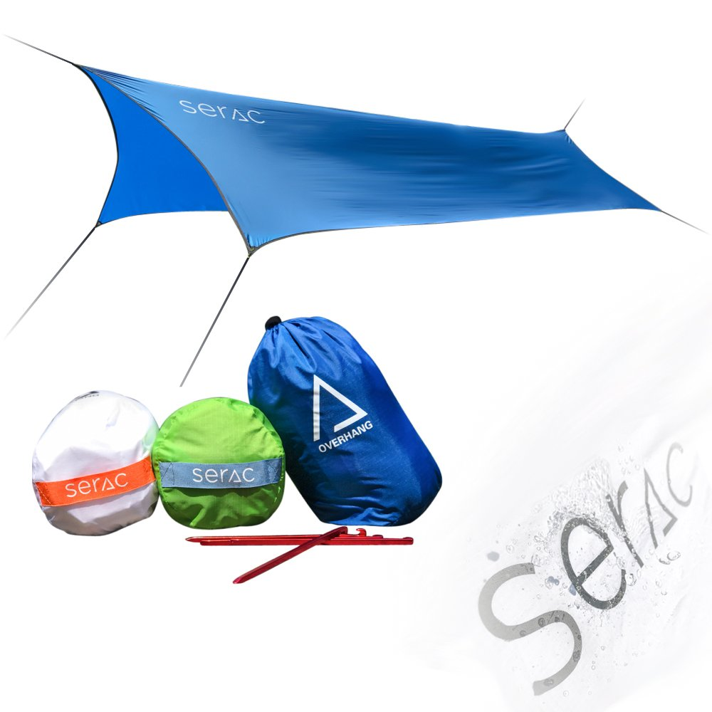 Serac [#1 Hammock and Tent Tarp] Ultralight Hammock Rain Fly | Best Hammock Rain Fly
