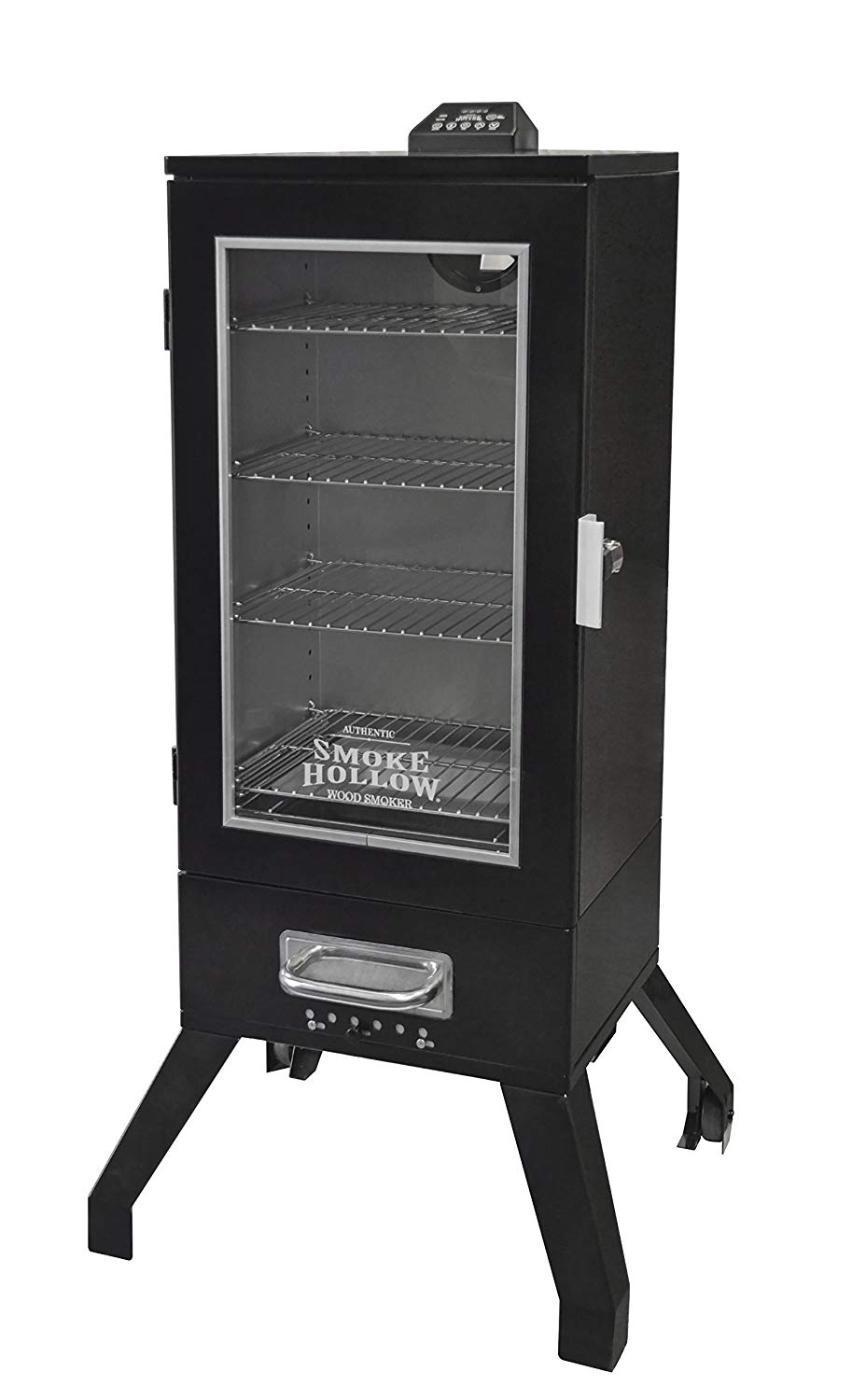 Smoke Hollow 3616DEW 36-Inch Digital Electric Smoker with Window, Black