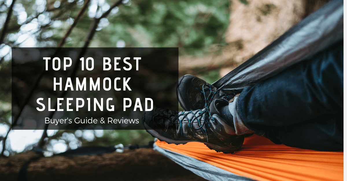 Top 10 Best Hammock sleeping pad-min