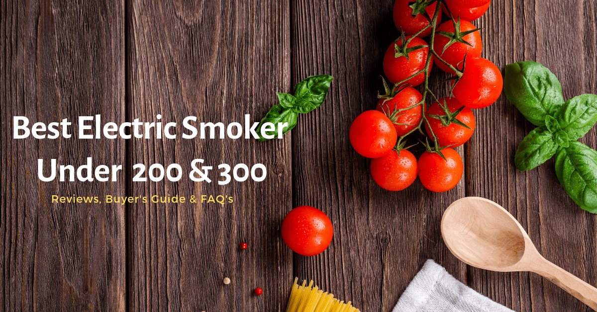 Best Electric Smoker Under 200 & 300 in 2021 Reviews