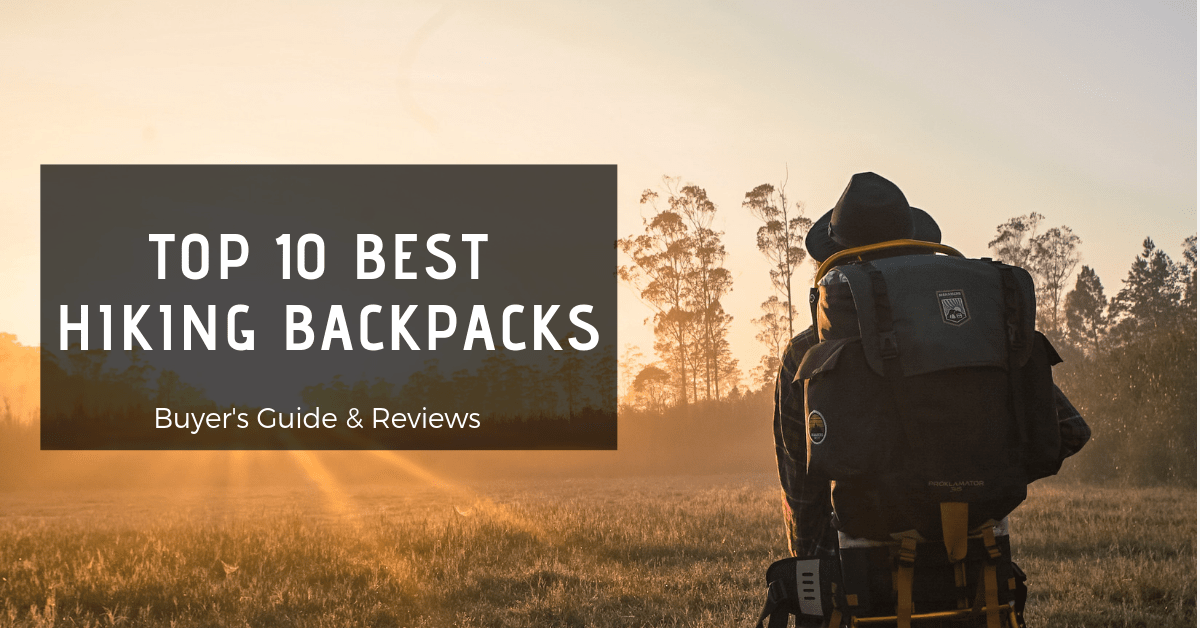 Top 10 best hiking backpacks-min