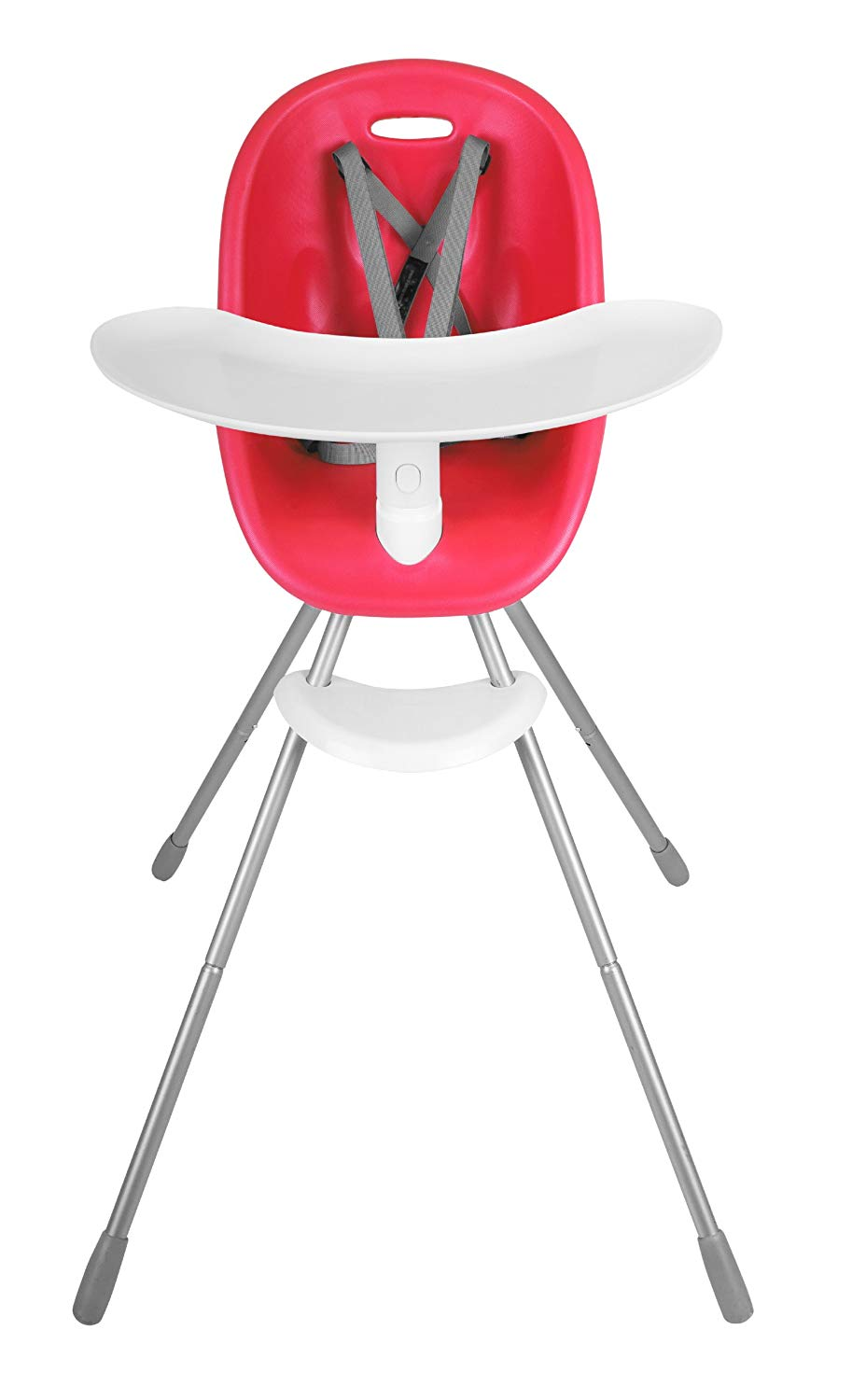 phil&teds Poppy Convertible High Chair, Cranberry