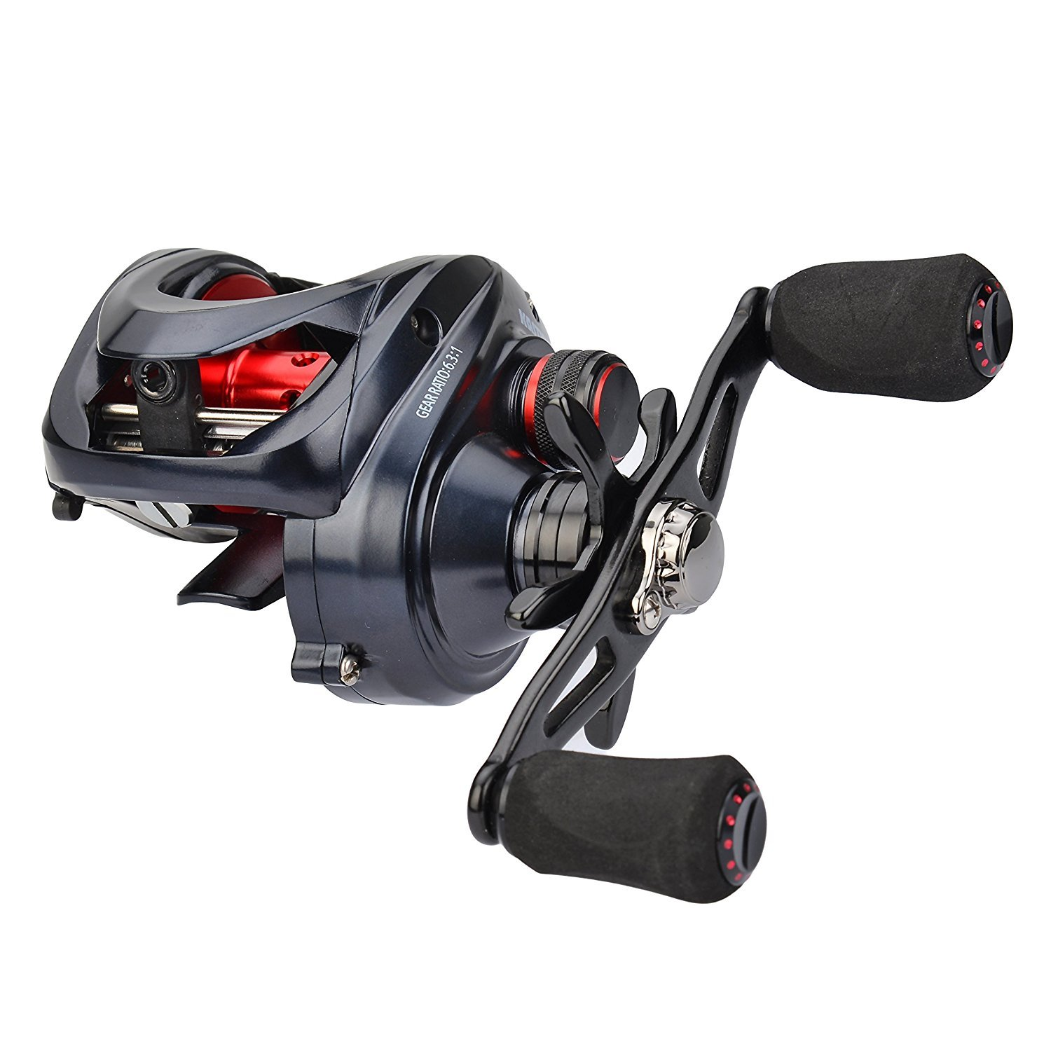 KastKing Spartacus Maximus Metal Low Profile Baitcasting Fishing Reel