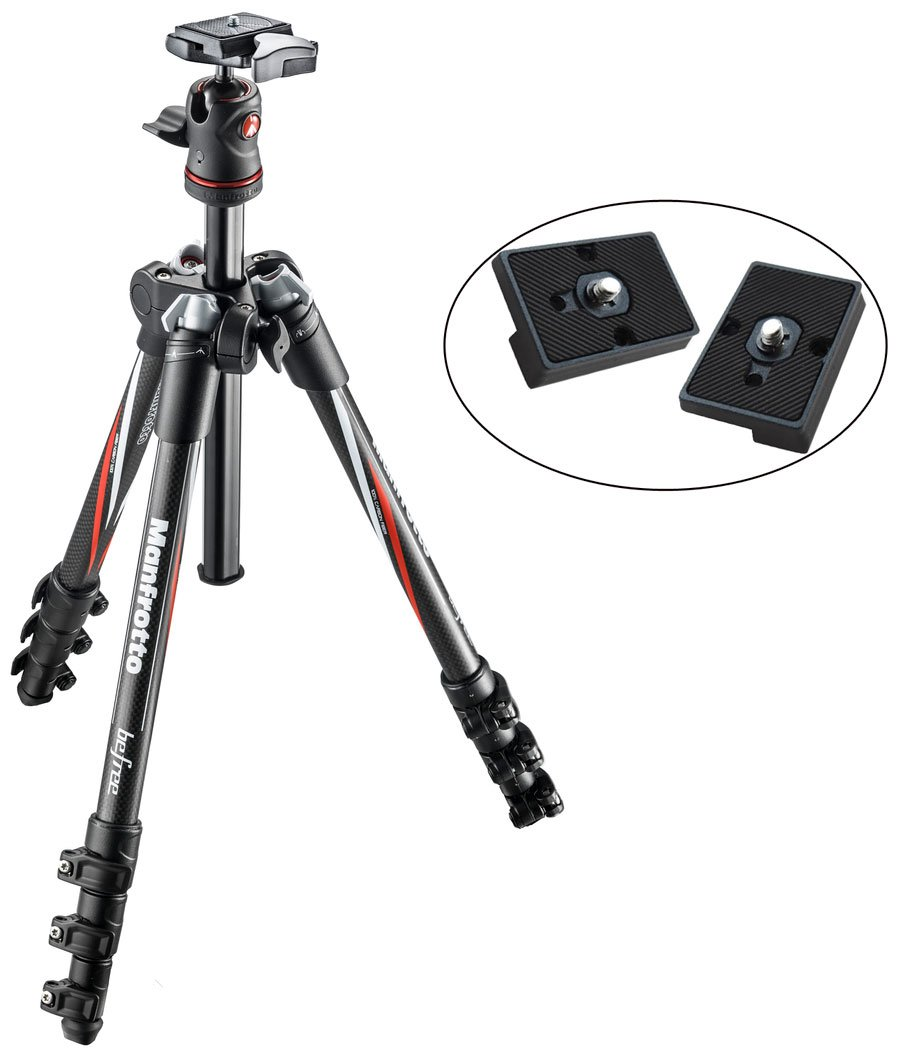 Manfrotto MKBFRC4-BH Befree Carbon Fiber Travel Tripod