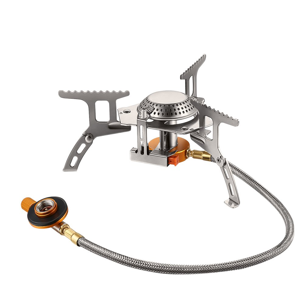 Terra Hiker 3500W Camping Gas Stove, Backpack Stove