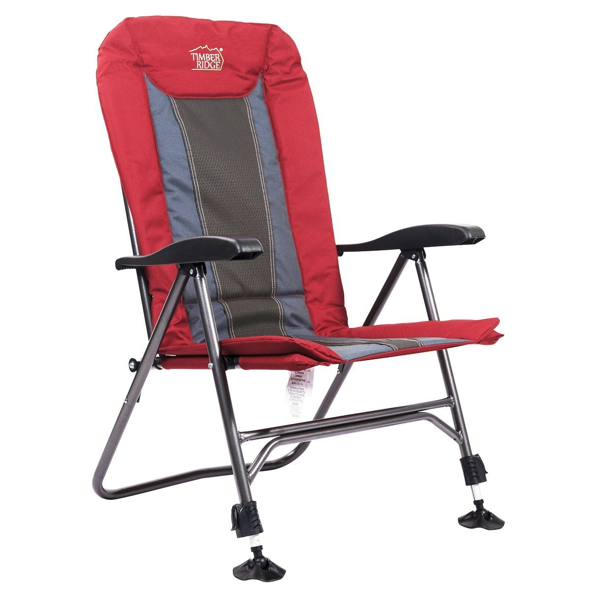Timber Ridge TRFCH011LA Camping Chair Folding Heavy Duty