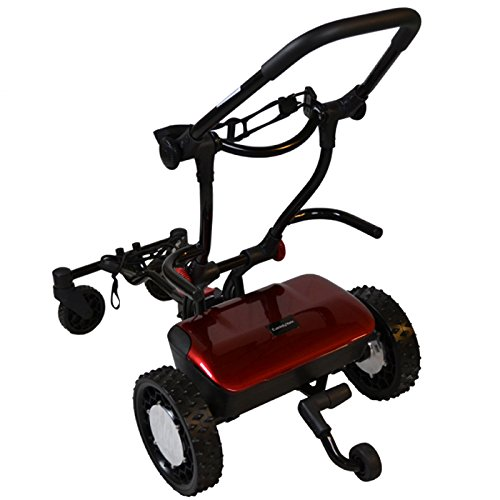 FTR Caddytrek R2 Red Robotic Electric Golf Cart