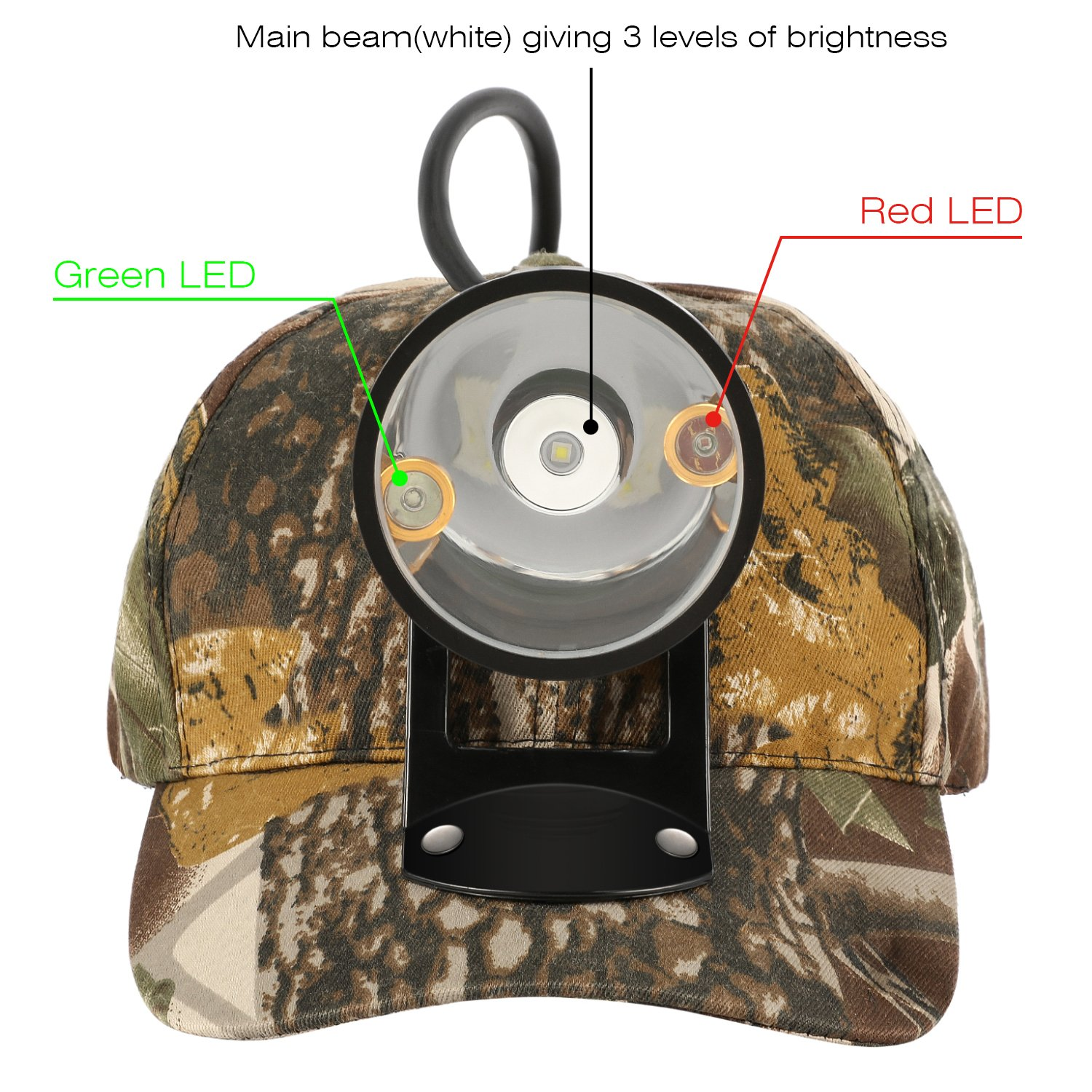 Kohree CREE 80000 LUX LED Coyote Hog Coon Hunting Light