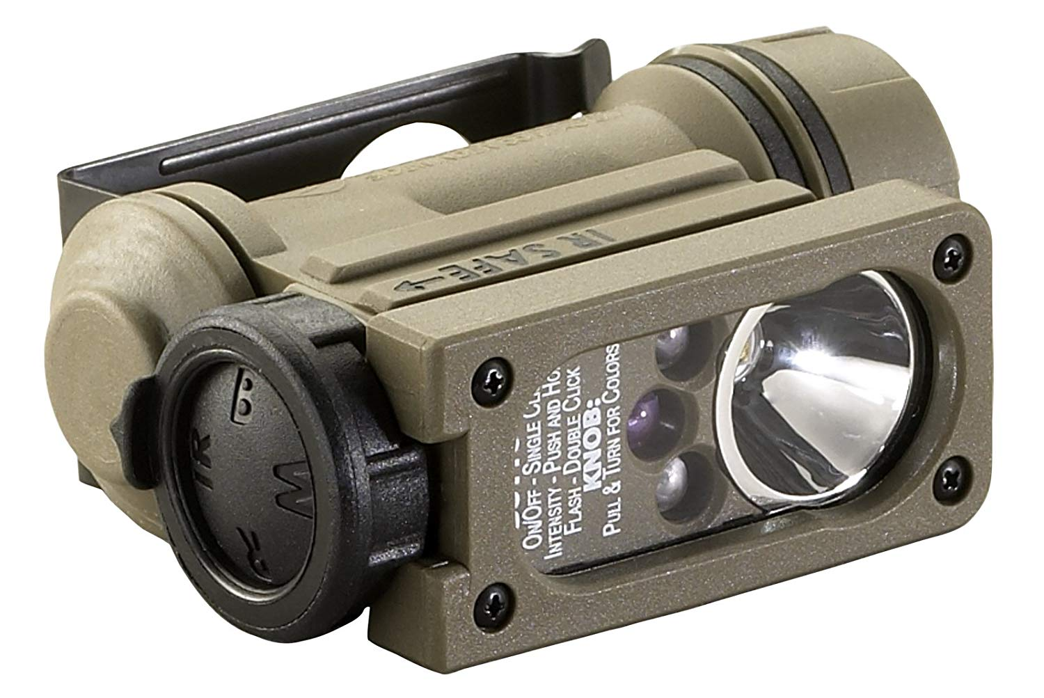 Streamlight 14514 Sidewinder Compact II Military Model Angle Head Flashlight