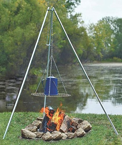 Top 10 Best Campfire Tripods For Camping 2021 Reviews 5