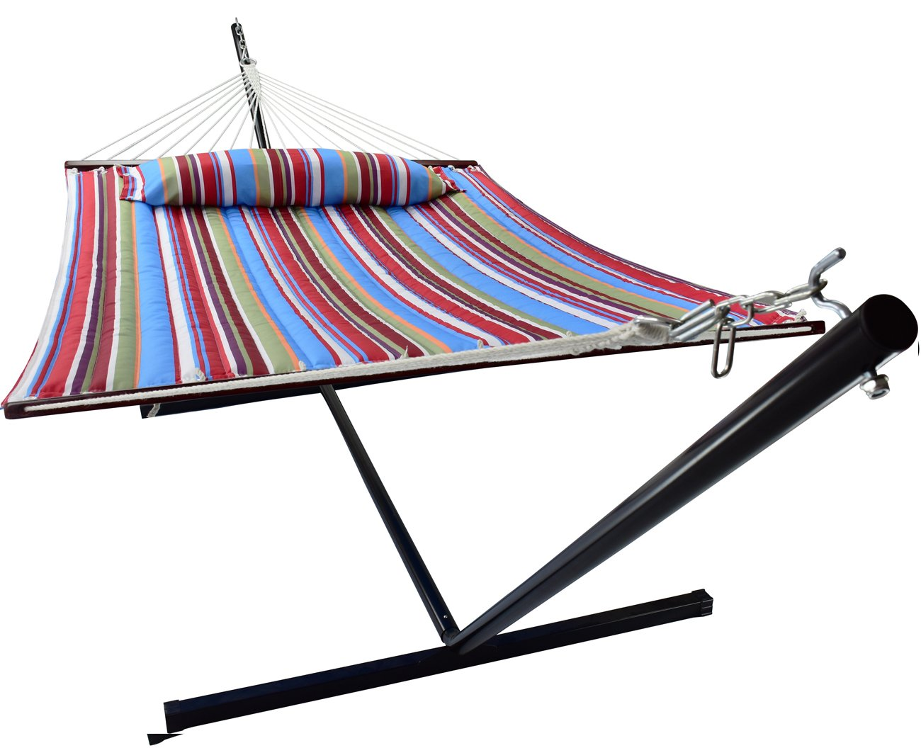 Sorbus Hammock with Spreader Bars and Detachable Pillow