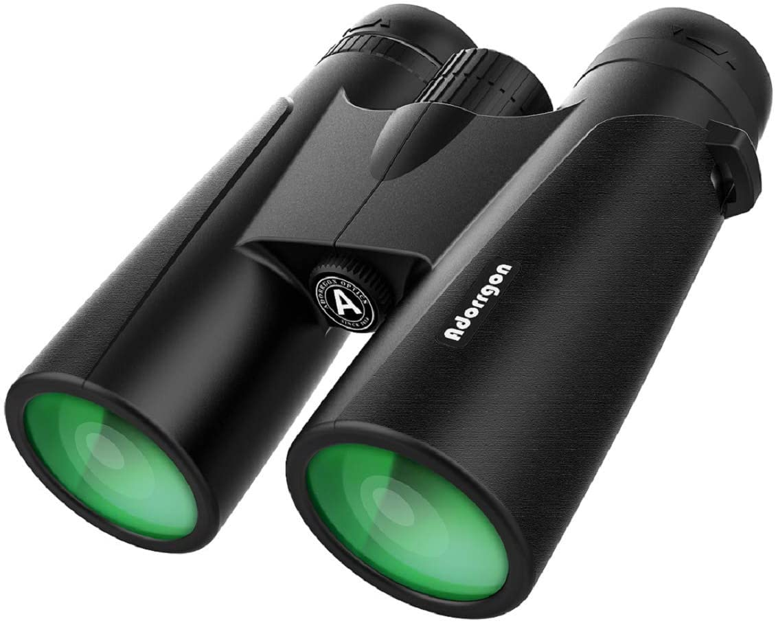 12x42 Powerful Binoculars with Clear Weak Light Vision