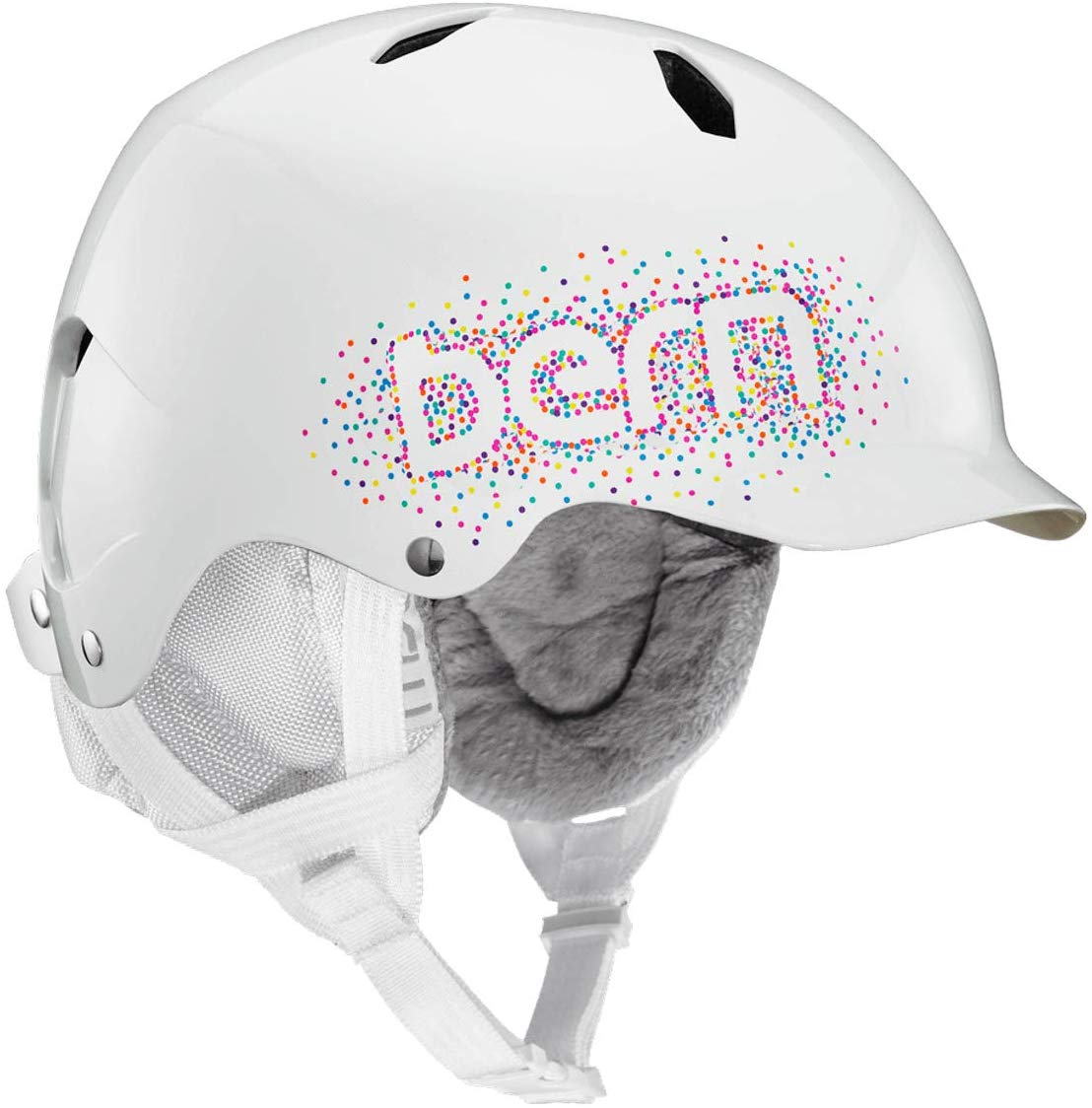 BERN - Kids Winter Bandito Snow Helmet