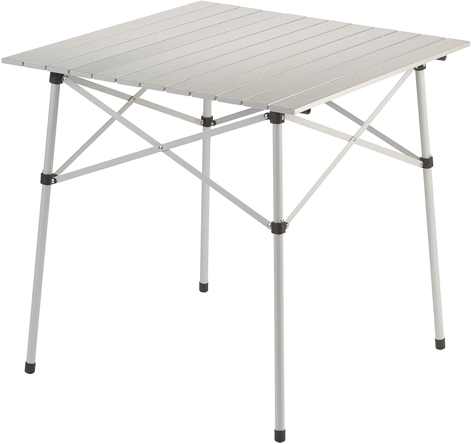 Coleman Camping Table - Compact Roll Top Aluminum Table