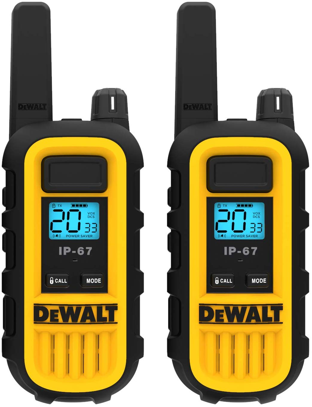 DEWALT DXFRS300 1 Watt Heavy Duty Walkie Talkie