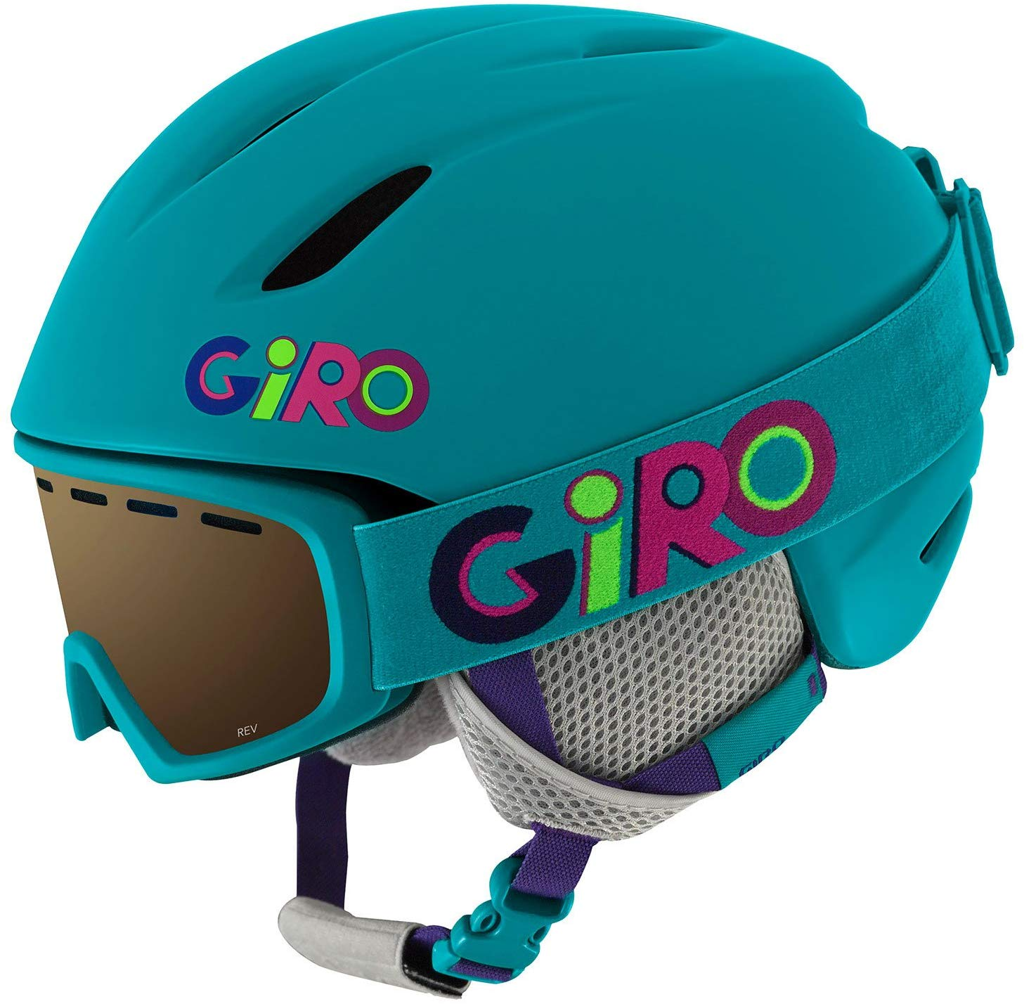 Giro Launch Combo Pack Kids Snow Helmet