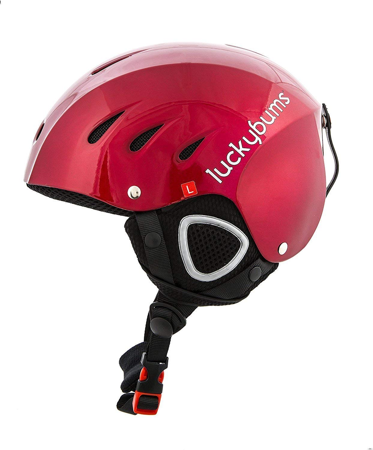 Lucky Bum Adult Snow Ski Helmet, Multiple Sizes and Colors