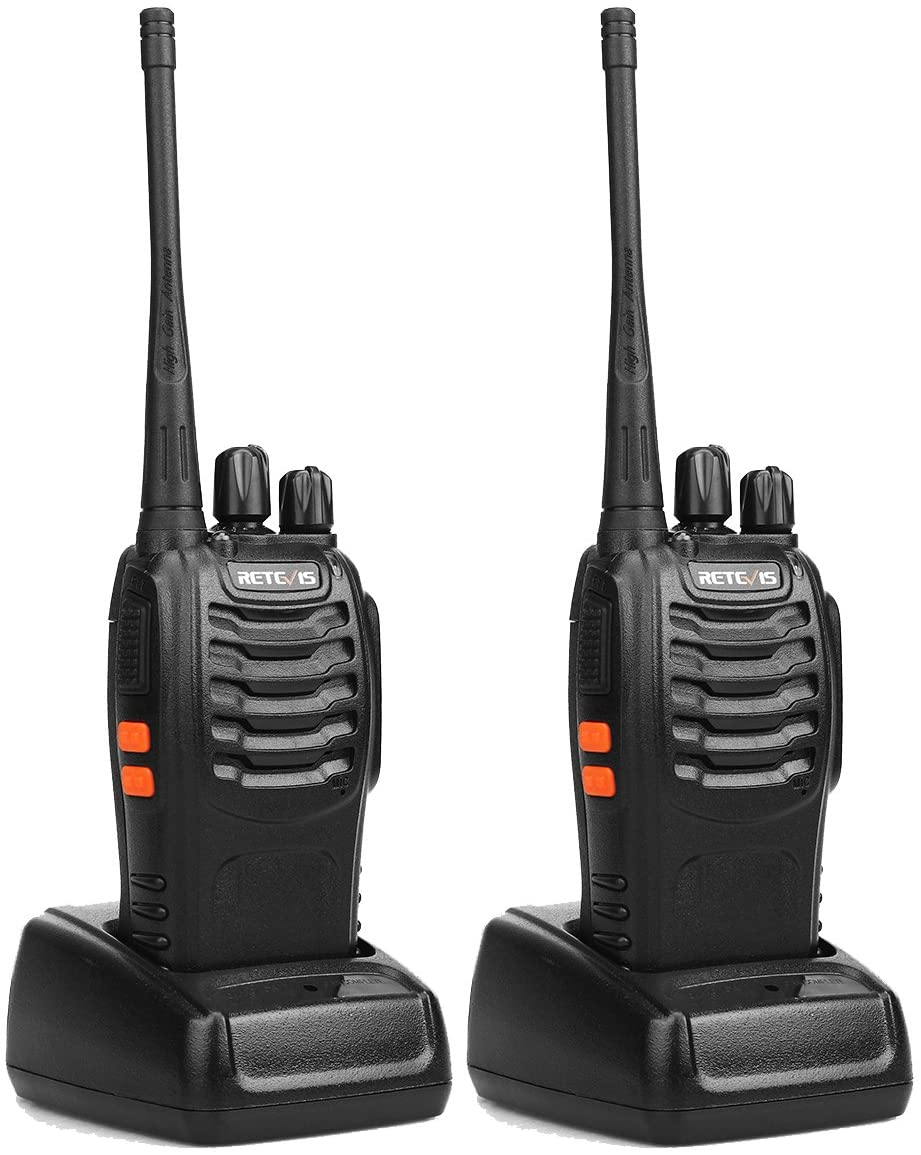 Retevis H-777 Two Way Radio UHF 16CH 2 Way Radio Single Band Flashlight Portable Walkie Talkies