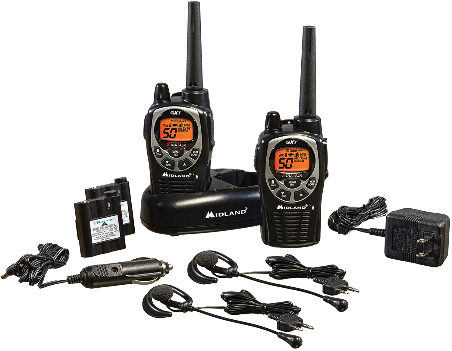 idland - GXT1000VP4, 50 Channel GMRS Two-Way Radio