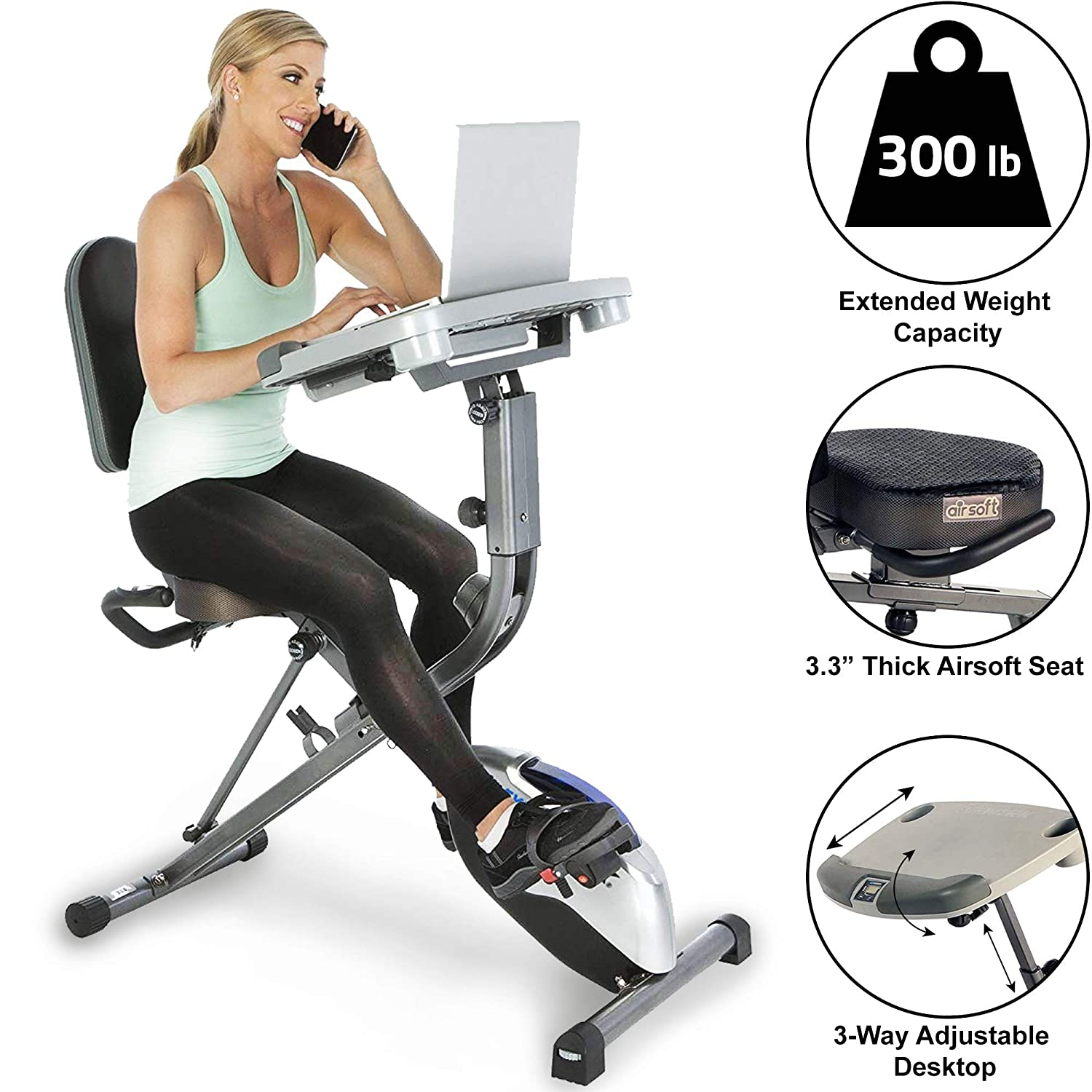 Top 10 Best Folding Exercise Bike Reviews 2020 5