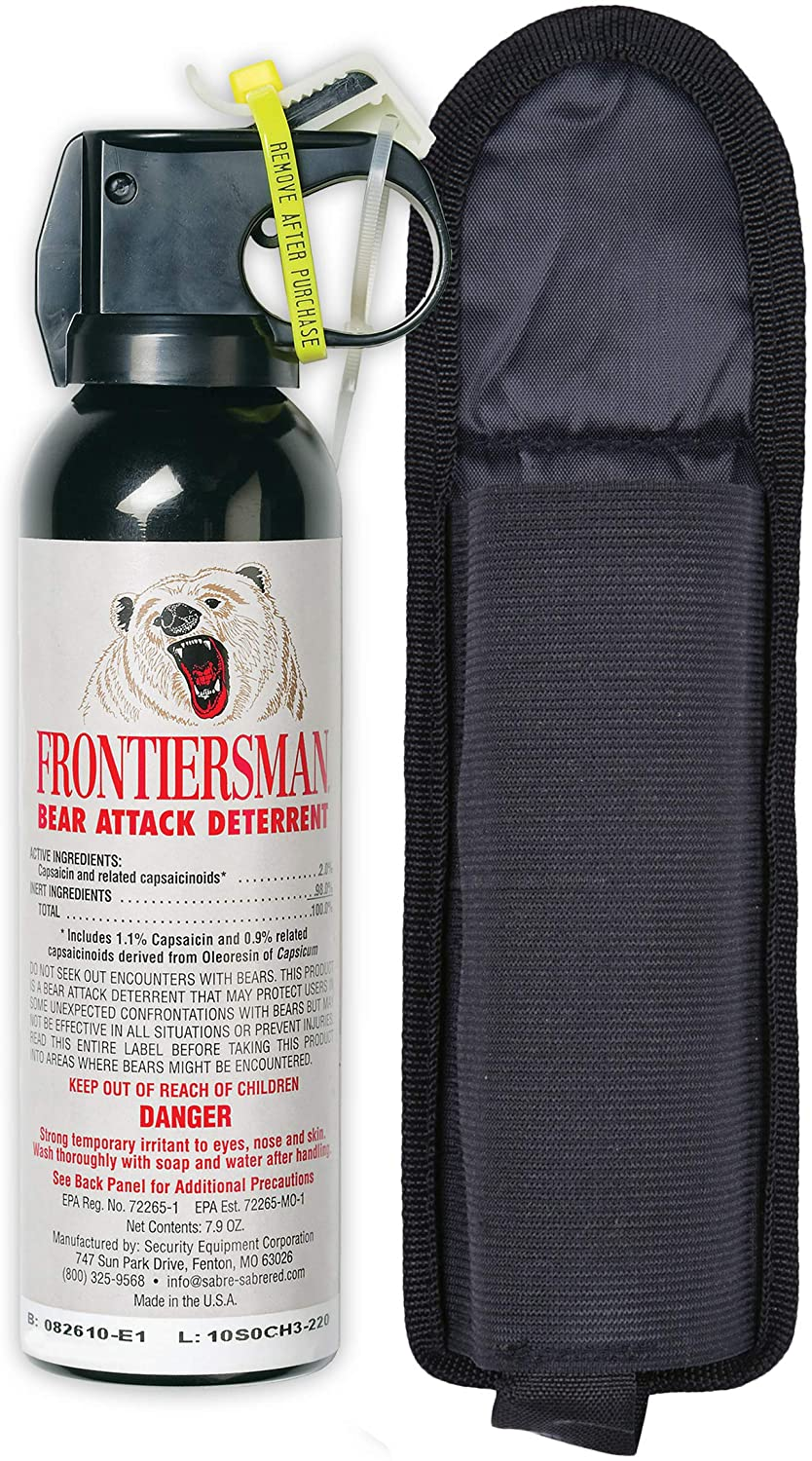 Top 10 Best Bear Sprays For Hiking & Camping In 2020 Reviews 3