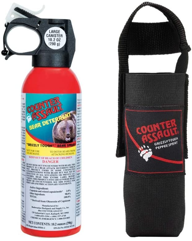 Top 10 Best Bear Sprays For Hiking & Camping In 2020 Reviews 1