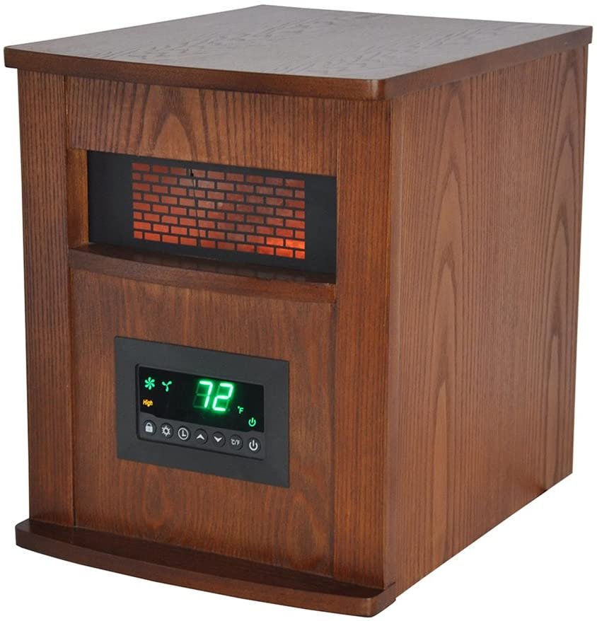 Top 10 Best Infrared Heater 2021 Reviews 10