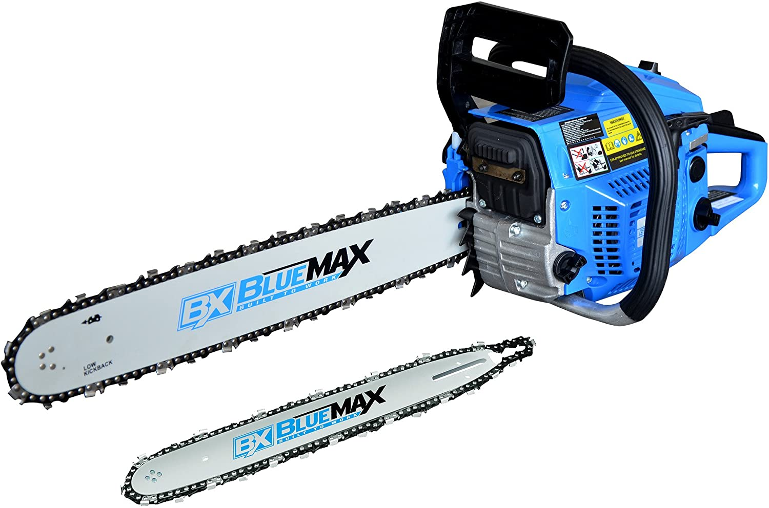 Blue Max 8901 2-in-1 14-Inch 20-Inch Combination Chainsaw in 4 Color Carton