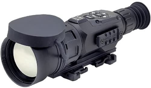 ATN ThOR- HD 640 5- 50X,640X480, 100mm, Thermal Rifle Scope w/High-Res Video, Wi-Fi, GPS, Image Stabilization, Range Finder, Ballistic Calculator and IOS and Android Apps