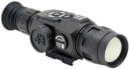ATN OTS- HD 640 Thermal Smart HD Monocular/ Viewers w/ High-Res Video, Geotagging, Rangefinder, Wi-Fi, E- Compass, E0 Zoom, 3D Gyroscope, IOS and Android Apps