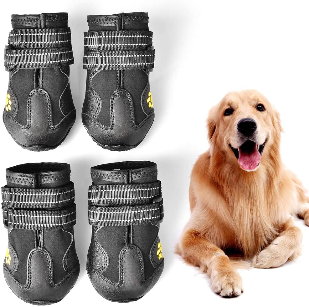Pupwe Dog booties running shoes for dogs