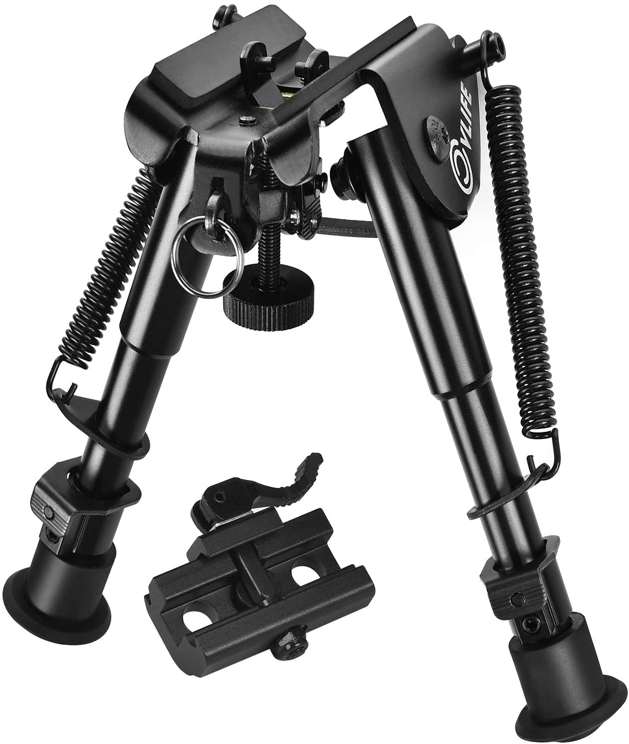 CVLIFE 6-9 Inches Bipod Quick Release Adapter Included for Hunting and Shooting