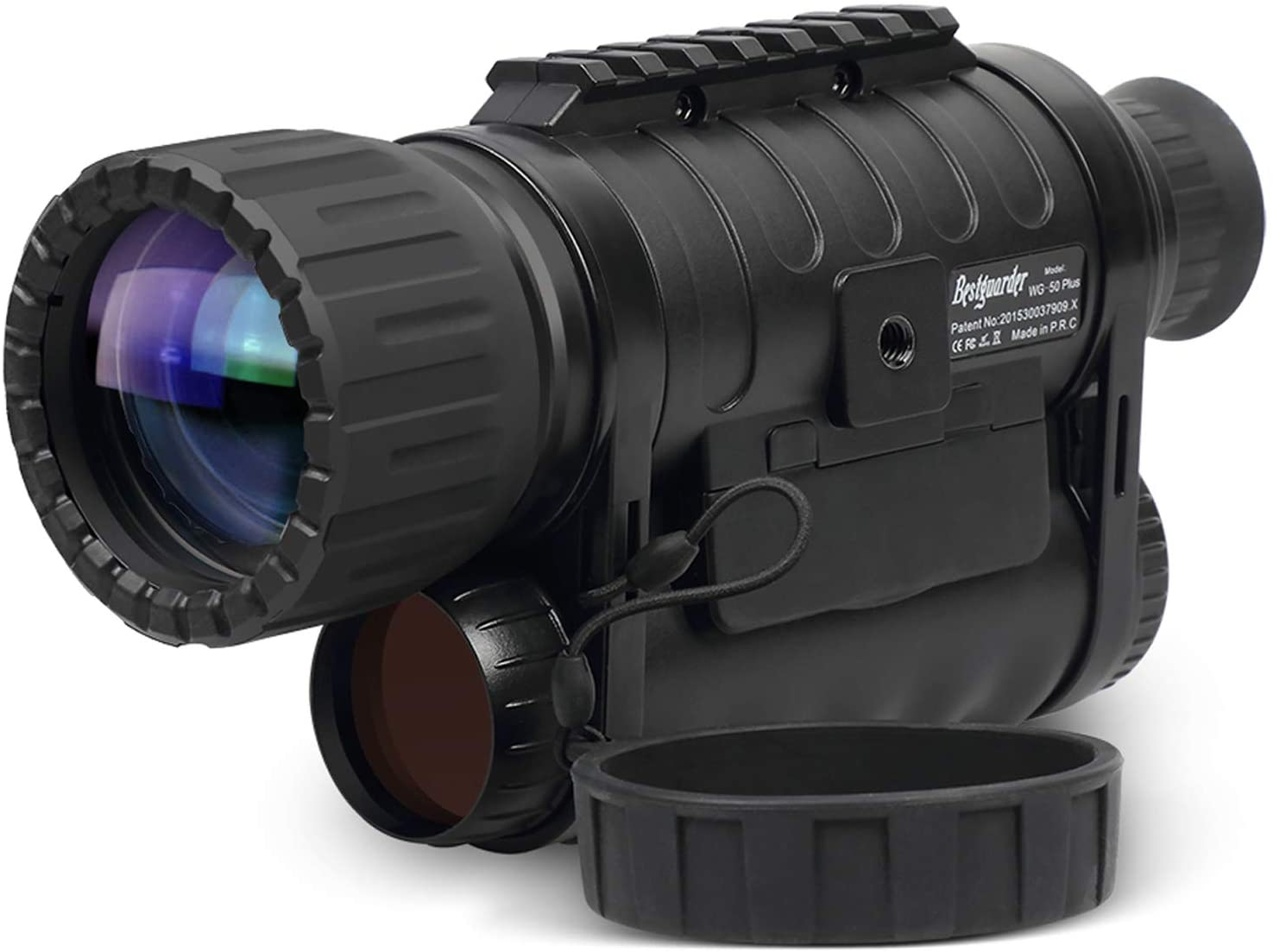 Infrared HD Night Vision Monocular with WiFi, Bestguarder WG-50 Plus,6-30X50MM Smart Digital Hunting Gear Can Takes 5mp Photo 720 Video from 1300ft Distance in Complete DarknessInfrared HD Night Vision Monocular with WiFi, Bestguarder WG-50 Plus,6-30X50MM Smart Digital Hunting Gear Can Takes 5mp Photo 720 Video from 1300ft Distance in Complete Darkness