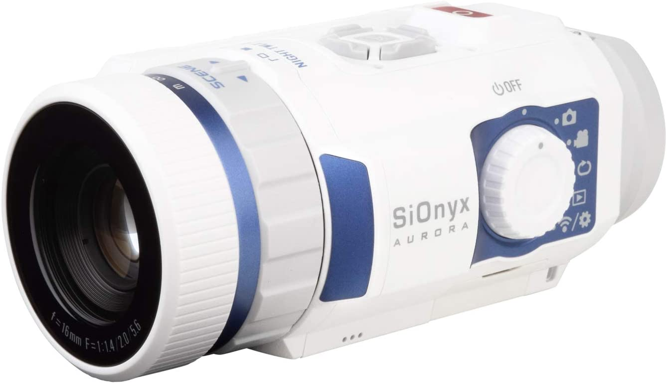 SiOnyx Aurora Sport I Full-Color Digital Night Vision Camera (Infrared Night Vision Monocular) I Ultra Low-Light IR SensorTechnology I Water Resistant (IP67) WiFi Enabled & Time Lapse