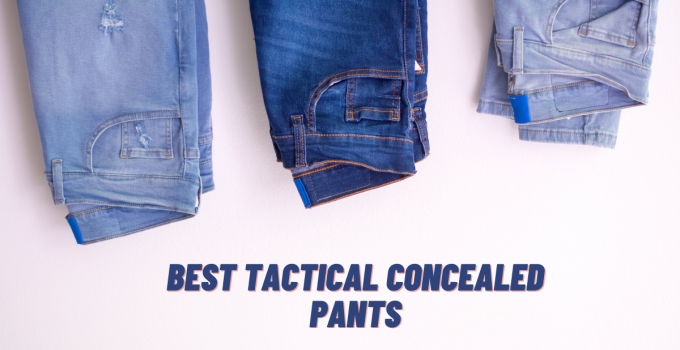 Best Concealed Carry Pants in 2021 Reviews 1